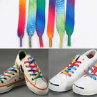 1Pair 120cm Rainbow Sports Shoe Laces Shoelaces Strings Strap For Sneakers Shoes