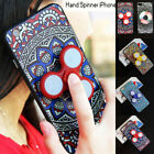 For iPhone Cover 6/7& Plus Gel Ultra Thin Soft TPU LED Hand Spinner iPhone Case
