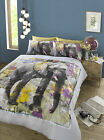 #Bedding Elephant Dream Floral Novelty Cotton Blend Quilt Duvet Cover Set