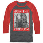 Star Wars Rogue One Join the Rebellion Poster Mens Graphic Baseball Tee $27.0 USD on eBay