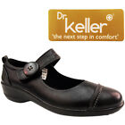 NEW WOMENS LADIES LOW FLAT TOUCH MARY JANE HARD SOLE WORK NURSE SHOES SIZE