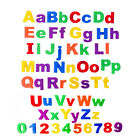 26pcs Lower/Upper Case ALPHABET LETTERS Number Magnetic Fridge Kid Learning Toys