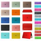"""Clear Matte Rubberized Hard Case Shell Keyboard Cover For 2015 Macbook 12"""" A1534"""