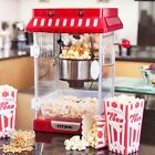 Vitinni Electric Retro Cinema Style Kettle Popcorn Popper Maker Machine