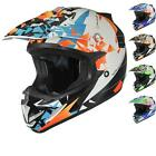 Shox MX-1 Paradox Motocross Quad Off Road MX Pit Bike Moto-X Enduro Helm