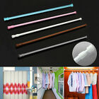 Extendable Telescopic Spring Loaded Net Voile Tension Curtain Rail Rod Rods GIFT