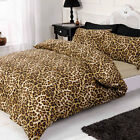 Unique Leopard Skin Inspired Duvet Cover Bedding Set with Pillowcases & Sheet