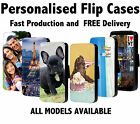 Personalised  Phone Flip Case Apple iPhone And Samsung Models