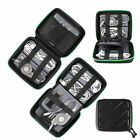 Travel USB Cable Organizer Electronics Accessories Storage Bag Hard Drives Case