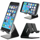 Universal Cell Phone Tablet Desktop Stand Desk Holder Mount Cradle Aluminium