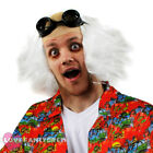 FUTURE DOCTOR WIG AND GOGGLES ACCESSORY KIT CRAZY SCIENTIST FANCY DRESS TV FILM