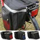 Sports Outdoor Bags Bicycle Carry Back Goods Shelf Hanger Pack Bags Double BagsW