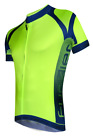 FUNKIER Men's Pro Short Sleeve Bicycling Jersey J-770 in Red and Yellow