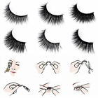 3D Women False Eyelash Natural Extension Eyes  Long Waterproof Makeup Cosmetic