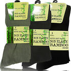 NEW MENS GENTS FINE ANTI BACTERIAL SOFT TOP DIABETIC BAMBOO ANKLE SOCKS ODOUR
