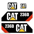 232D 236D 242D 246D 262D 272D Skid Steer loader New Repro decal Kit