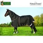 Rambo Optimo 400g Heavyweight Turnout Rug with Liner and Hood Included.
