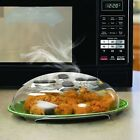 Splatter Guard Microwave Hover Anti-Sputtering Cover with Steam Vent US