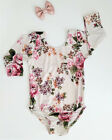 toddlers dance clothes - Kids Baby Girl Toddler Dance Floral Romper Bodysuit Jumpsuit Top Clothes Outfits