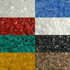 2 Ounces Medium Grit 96 COE Frit Tumbled Granulated Glass Embellishment Pieces