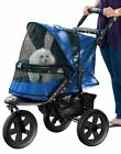 New AT3 No Zip Stroller with elevated paw rest and Panoramic window in 3 colors