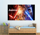 Personalised Glossy Kids Star Wars Poster - Wall Decoration -