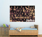 Personalised Glossy Kids The Walking Dead Poster - Wall Decoration -