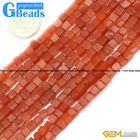 """4mm Assorted Stones Square Loose Beads For Jewelry Making Free Shipping 15"""""""