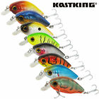 KastKing 1pc Fishing Wobblers 3D Eyes Crank Fishing Lure 2'' Fishing Bait 1/4 oz