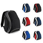 New BAGBASE Teamwear Sports Gym Backpack Rucksack in 7 Contrast Colours One Size