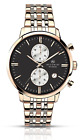 Accurist Men's Quartz Watch with Chronograph Display and Stainless Steel Bracele