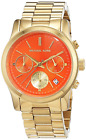 Micheal Kors Women's Quartz Watch Analogue Display and Stainless Steel Strap MK6