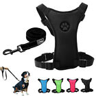 Breathable Air Mesh Pet Dog Car Harness and Leads for Dogs Travel Walking S M L