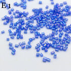 34 COLORS NEW Jewelry Making DIY 1000pcs 2-3mm Czech glass tube needles beads