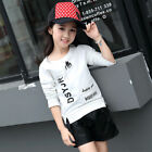 3-13Y Spring Girl T shirt cotton Tops New kids girl Long Sleeve Shirts for girls