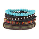 Elegant Fashion Lots Style Jewelry Vintage Leather Cute Multilayer Charm Bracele