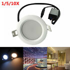 9W AC110V-240V Dimmable Anti-fog Waterproof IP65 LED Ceiling Lights Down Lamps