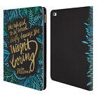 OFFICIAL CAT COQUILLETTE CALLIGRAPHY LEATHER BOOK WALLET CASE FOR APPLE iPAD