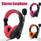 hook laptop to monitor - Stereo Earphone Headband Gaming Headset Microphone For PC Notebook Laptop Lot