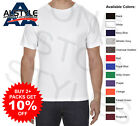 3 Pack - AAA Alstyle T-Shirts Plain Cotton Assorted Color Blank Tees 1301 S-3XL image