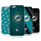 OFFICIAL NFL 2017/18 MIAMI DOLPHINS SOFT GEL CASE FOR APPLE iPHONE PHONES