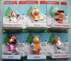 6 PEANUTS *A CHARLIE BROWN CHRISTMAS* HOLIDAY FIGURES NEW! CB LINUS LUCY SNOOPY