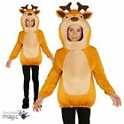 Boys Girls Childs Reindeer Christmas Xmas Nativity Festive Fancy Dress Costume