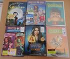 halloween dvd lot 5 brand new moster high beetlejuice & more +( coraline used)