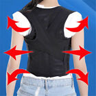 Unisex Adjustable Brace Shoulder Belt Flexible Posture Back Support Corrector