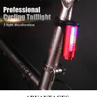 Waterproof USB Rechargeable LED Mountain Bike Taillight Warning Lights Good