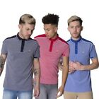 KANGOL Roscoe Hommes manches courtes coupe standard Polo T-shirt