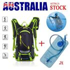 Outdoor Cycling Hiking Water Backpack Bag 2L TPU Hydration Bladder Pack Rucksack