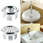 2x Kitchen Sink Tap Hole Blanking Plug Cover, Bathroom Overflow Covers New
