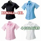 Women's Ladies short sleeve ultimate non-iron shirt formal casual lot
